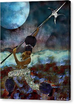Cloud Dancer A Capella Canvas Print by Iowan Stone-Flowers