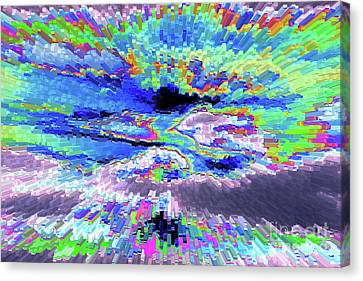 Cloud Energy Canvas Print by Carol Groenen