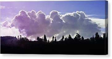 Cloud Express Canvas Print