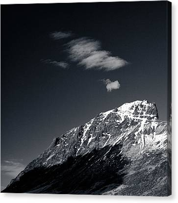 Cloud Formation Canvas Print by Dave Bowman