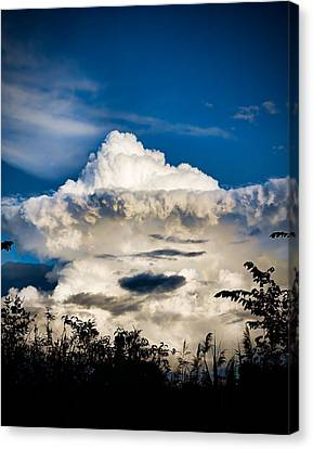 Cloud Formation Canvas Print by Michel Filion