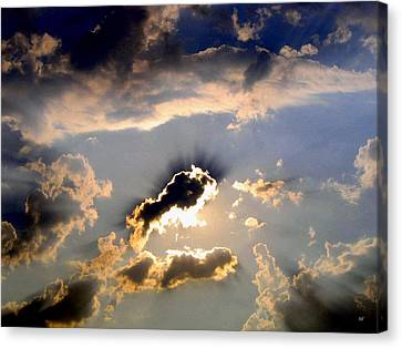 Cloud Nine 4 Canvas Print by Will Borden