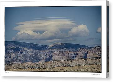 Cloud On Route 6 Canvas Print