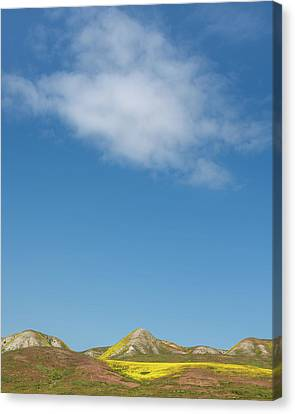 Cloud Over Carrizo Canvas Print