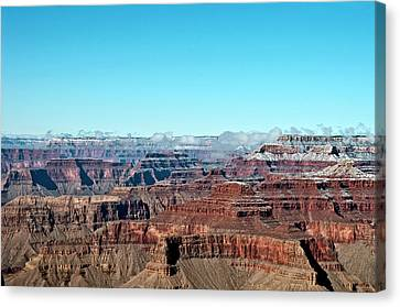 Cloud Over Grand Canyon Canvas Print by @Niladri Nath