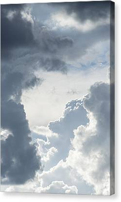 Cloud Painting Canvas Print by Laura Pratt
