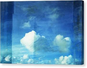 Cloud Painting Canvas Print by Setsiri Silapasuwanchai