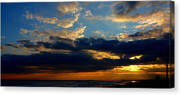 Cloud Party Canvas Print by Kevin  Sherf