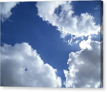 Cloud Patterns Canvas Print by Esther Newman-Cohen