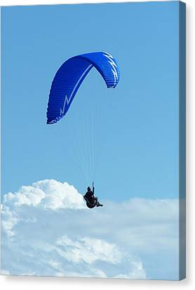 Cloud Sitting Canvas Print by Gene Ritchhart
