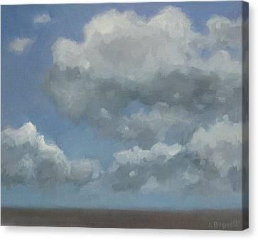 Cloud Study #3 Canvas Print by Jennifer Boswell