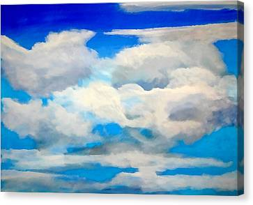 Cloud Study Canvas Print by Donna Proctor