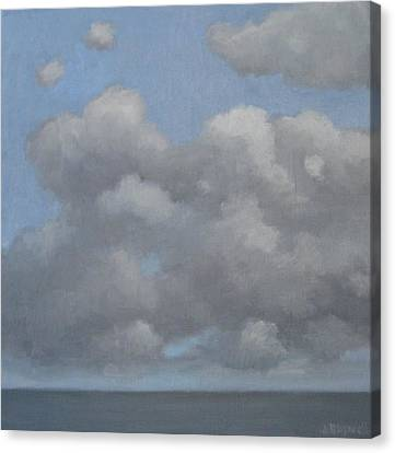 Cloud Study Series Two Canvas Print