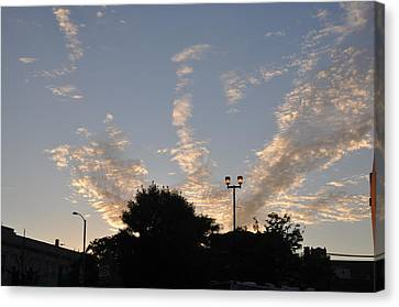 Cloud Symphony Canvas Print