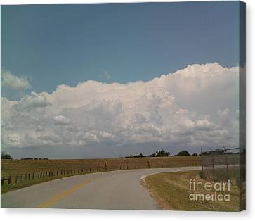 Cloudbank Canvas Print