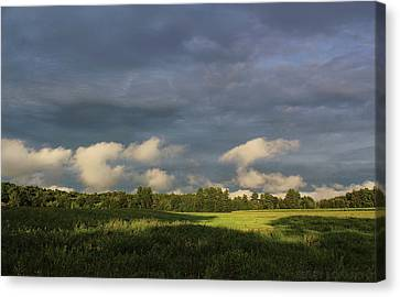 Cloudline Canvas Print by Jerry LoFaro