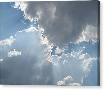 Clouds 1 Canvas Print