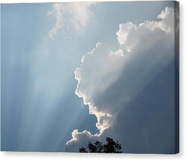 Canvas Print featuring the photograph Clouds 8 by Douglas Pike