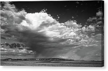 Clouds Along Indian Route 13 Canvas Print