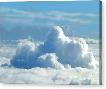 Canvas Print - Clouds And Sky M2 by Francesca Mackenney