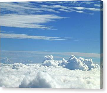 Canvas Print - Clouds And Sky M4 by Francesca Mackenney
