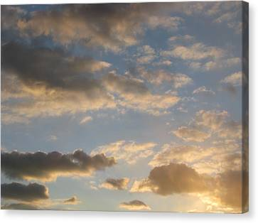 Clouds Canvas Print by Hasani Blue