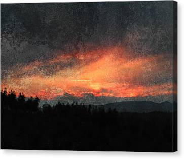 Clouds Like Mountains Canvas Print by Dorothy Berry-Lound