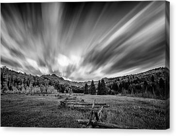 Clouds Of Colorado Canvas Print