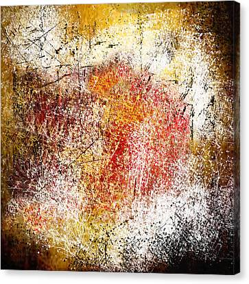 Clouds Of Fire Canvas Print by Art Spectrum
