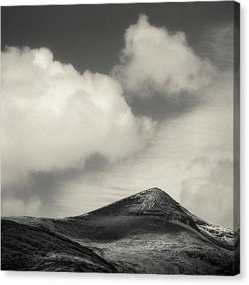 Clouds Over Ben More Canvas Print by Dave Bowman