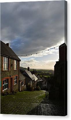 Clouds Over Gold Hill Canvas Print