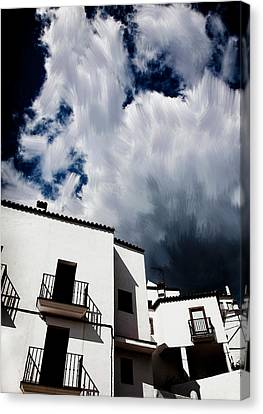 Clouds Over  Jubrique Canvas Print