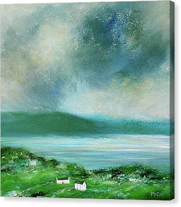 Clouds Over Malin Head, Donegal Canvas Print