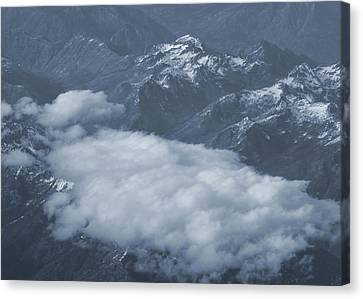 Lake Chelan Canvas Print - Clouds Over North Cascade Mountain Range by Dan Sproul