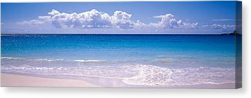 Clouds Over Sea, Caribbean Sea Canvas Print by Panoramic Images