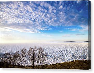 Clouds Over The Bay Canvas Print by Onyonet  Photo Studios