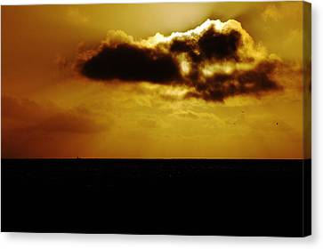 Clayton Canvas Print - Clouds Over The Ocean by Clayton Bruster