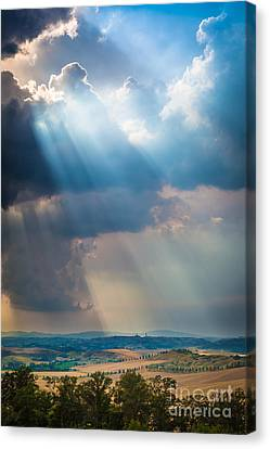 Clouds Over Tuscany Canvas Print