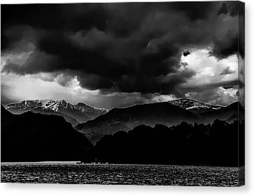 Clouds Over Ulswater Lake District Canvas Print