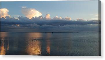 Clouds Canvas Print by Steven Scott