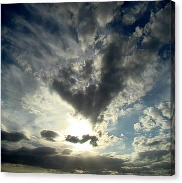 Clouds Two Canvas Print by Ana Villaronga