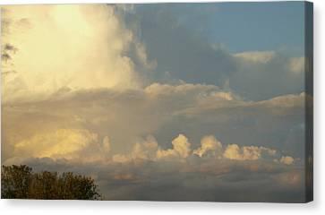 Cloudscape One Canvas Print by Caroline Czelatko