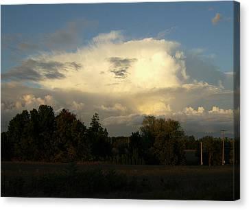 Cloudscape Two Canvas Print by Caroline Czelatko