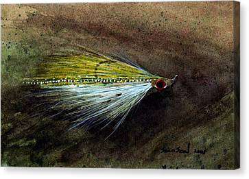 Clouser Minnow Canvas Print by Sean Seal