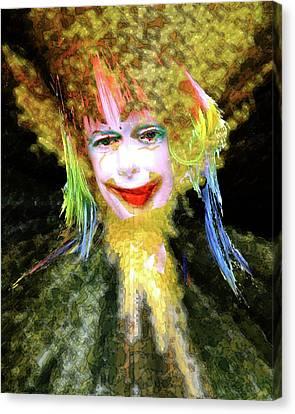 Clown Canvas Print by Robert Sloan