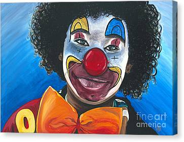 Clowning Around Canvas Print by Patty Vicknair
