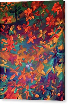Canvas Print featuring the painting Clysp by Cyryn Fyrcyd