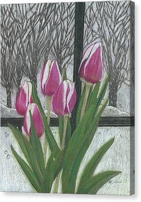 C'mon Spring Canvas Print by Arlene Crafton