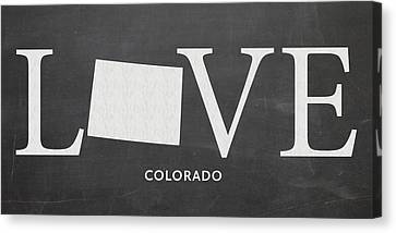 Fort Collins Canvas Print - Co Love by Nancy Ingersoll