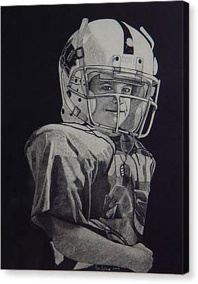 coach am I up Canvas Print by Ron Sylvia